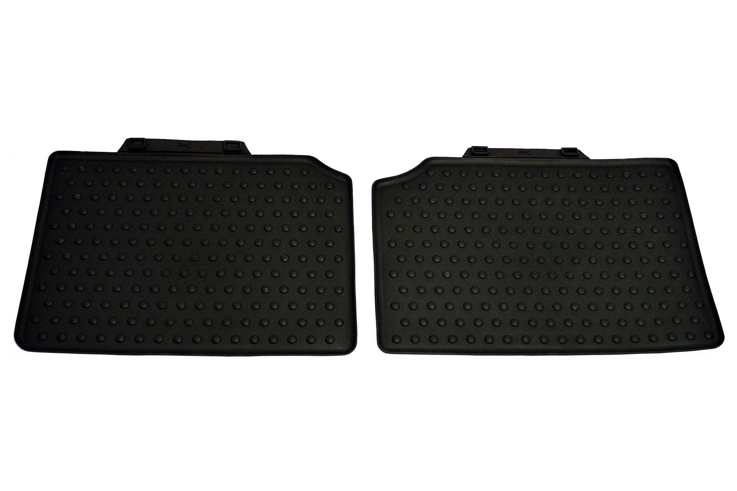 Mini cooper rubber floor mats uk - Mini Countryman Rear All Weather Rubber Floor Mats