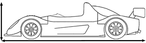 racing car diagram