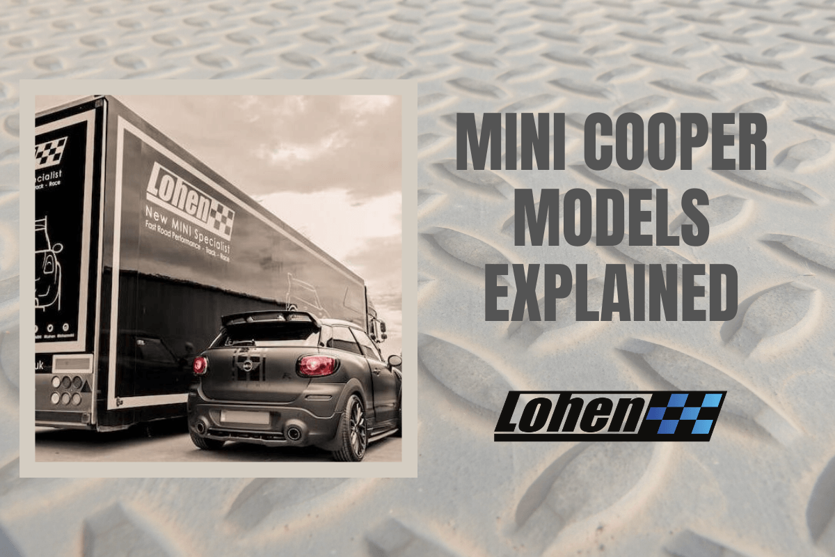 Know Your Car: MINI Cooper Models Explained