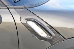 MINI R56 Countryman RSI C6 Carbon Fibre Side Scuttle Covers