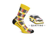 Heel Tread, Quattro, Socks, UK, L