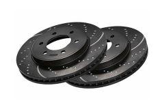 EBC Brake Discs - Rear - Drilled & Grooved for MINI (Gen 3) - F55,F56,F57