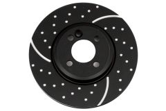 EBC, Gen 3,  Drilled and Grooved, Brake Discs