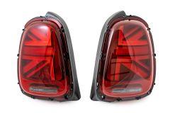MINI GP3 Lights, Tinted Union Jack lights, GP3 lights