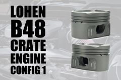 Lohen MINI B48 Forged Crate Engine Build - Config 1