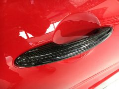 RSI C6 Carbon Fibre Exterior Door Handle Covers For MINI R53, R56 & F56