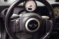 RSI C6, R50, Steering Wheel Trim, Carbon Fibre